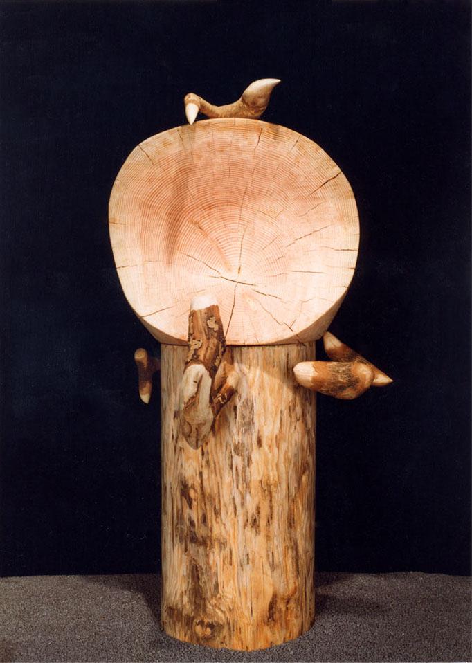 木彫1 なんじゃもんじゃの木